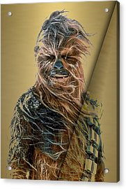 Star Wars Chewbacca Collection Acrylic Print by Marvin Blaine