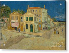 The Yellow House Acrylic Print by Vincent Van Gogh