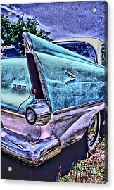 60s Plymouth Acrylic Print by Corky Willis Atlanta Photography