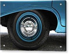 61 Impala Wheel Acrylic Print by David Lee Thompson