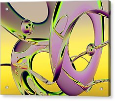 6jkb Acrylic Print by Scott Piers