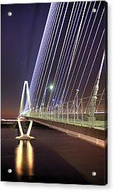 Arthur Ravenel Jr. Bridge  Acrylic Print by Dustin K Ryan