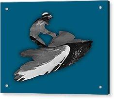 Jet Ski Collection Acrylic Print by Marvin Blaine