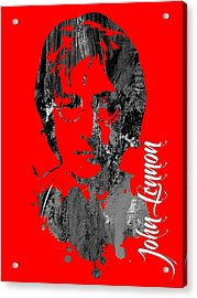 John Lennon Collection Acrylic Print by Marvin Blaine