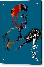 Jack Dempsey Collection Acrylic Print by Marvin Blaine