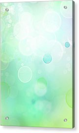 Abstract Background Acrylic Print by Les Cunliffe