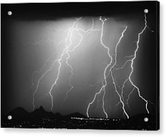 85255 Black And White Acrylic Print by James BO  Insogna
