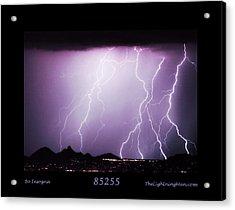 85255 Fine Art Arizona Lightning Photo Poster Acrylic Print by James BO  Insogna