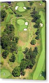 8th Hole Sunnybrook Golf Club 398 Stenton Avenue Plymouth Meeting Pa 19462 1243 Acrylic Print by Duncan Pearson