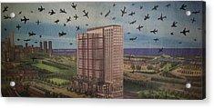 9-11-3 Acrylic Print by William Douglas