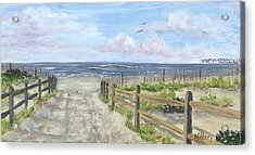 92nd Street Acrylic Print by Margie Perry