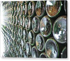 99 Bottles Of Beer On The Wall... Acrylic Print by Martha Ayotte