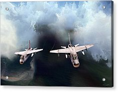 A-7 Clansmen Acrylic Print by Peter Chilelli