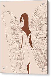 A Backward Look Acrylic Print by Tray Mead