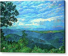 A Break In The Clouds Acrylic Print by Kendall Kessler