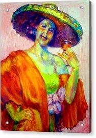 A Festive Spirit Acrylic Print by Patricia Lyle