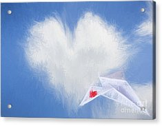A Flight Of Fancy Acrylic Print by Jorgo Photography - Wall Art Gallery