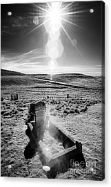 A Harsh Land Acrylic Print by Russ Brown