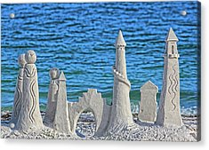 A Kingdom By The Sea Acrylic Print by HH Photography of Florida