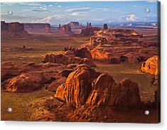 A Monumental View Acrylic Print by Guy Schmickle