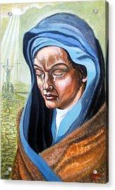 A  Mothers  Tears Acrylic Print by James Richardson