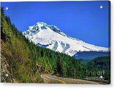 A Mountain Called Hood Acrylic Print by Jon Burch Photography