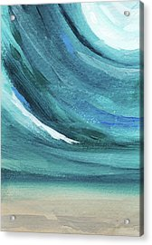 A New Start- Art By Linda Woods Acrylic Print by Linda Woods