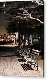 A Night In Hoboken Acrylic Print by JC Findley