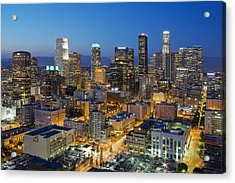 A Night In L A Acrylic Print by Kelley King