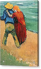 A Pair Of Lovers Acrylic Print by Vincent Van Gogh