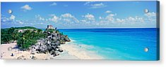 A Panoramic View Of The Templo Del Dios Acrylic Print by Panoramic Images