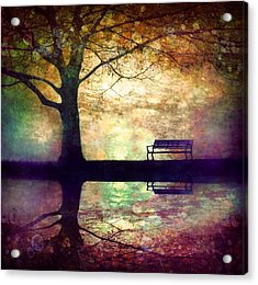 A Place To Rest In The Dark Acrylic Print by Tara Turner