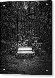 A Place To Sit Acrylic Print by Scott Norris