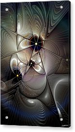 A Question Of Balance Acrylic Print by Casey Kotas