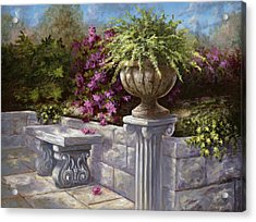 A Quiet Place Acrylic Print by Jose Rodriguez