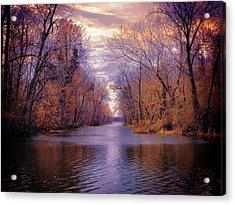 A Reelfoot Bayou Acrylic Print by Julie Dant