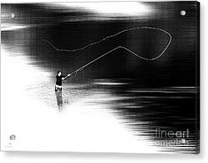 A River Runs Through It Acrylic Print by Hannes Cmarits