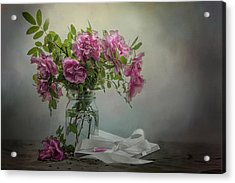 A Rose By Any Other Name Acrylic Print by Maggie Terlecki