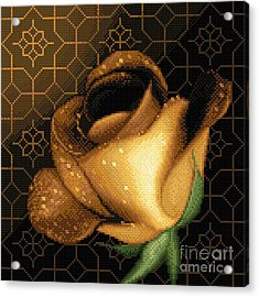 A Rose For You Acrylic Print by Stoyanka Ivanova