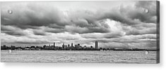 A Rotten Day In Buffalo  9230 Acrylic Print by Guy Whiteley