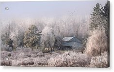 A Rural Neighbor Acrylic Print by Lori Deiter