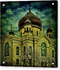 A Russian In Brooklyn Acrylic Print by Chris Lord