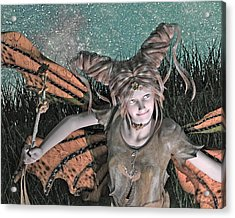 She Belongs -- With  Acrylic Print by Betsy Knapp