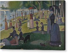 A Sunday Afternoon On The Island Of La Grande Jatte Acrylic Print by Georges-Pierre Seurat