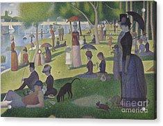 A Sunday On La Grande Jatte Acrylic Print by Georges Pierre Seurat