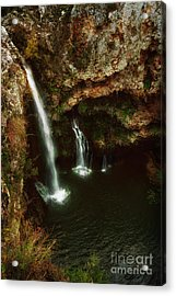 A View From Above The Falls II Acrylic Print by Tamyra Ayles