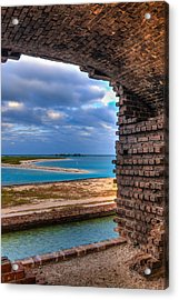 A View From Fort Jefferson - 2 Acrylic Print by Andres Leon