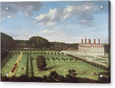 A View Of Bayhall - Pembury Acrylic Print by Jan Siberechts