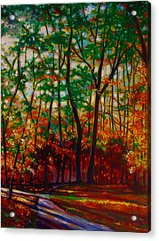 A Walk In The Park Acrylic Print by Emery Franklin