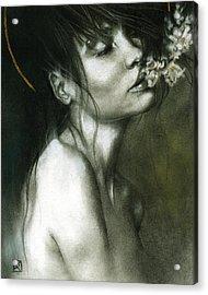 A Whisper Acrylic Print by Patricia Ariel
